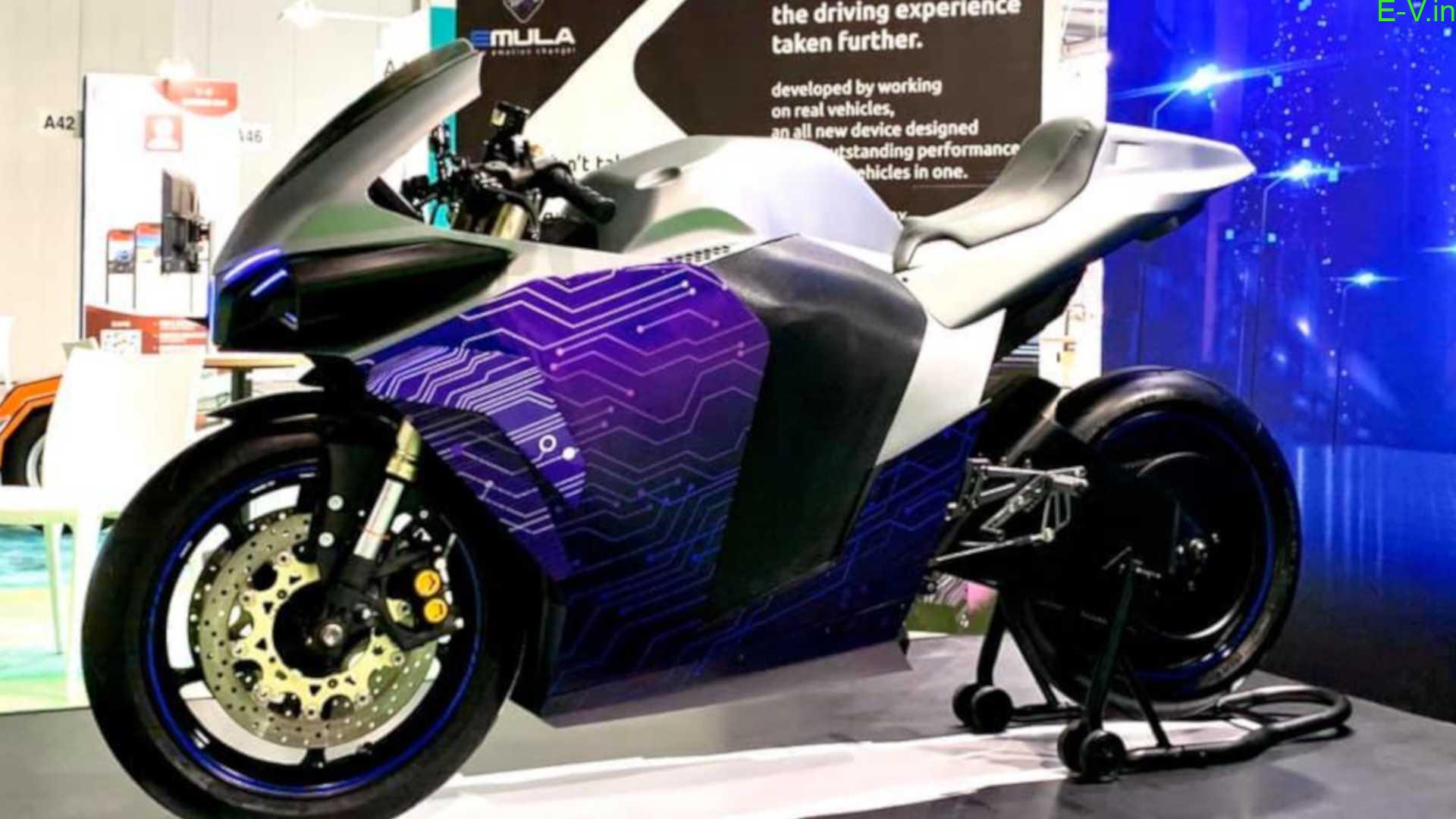 Emula Electric superbike concept