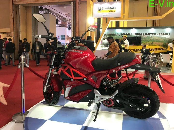 Okinawa Oki100 electric bike