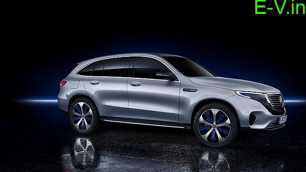 Mercedes Benz EQC Electric