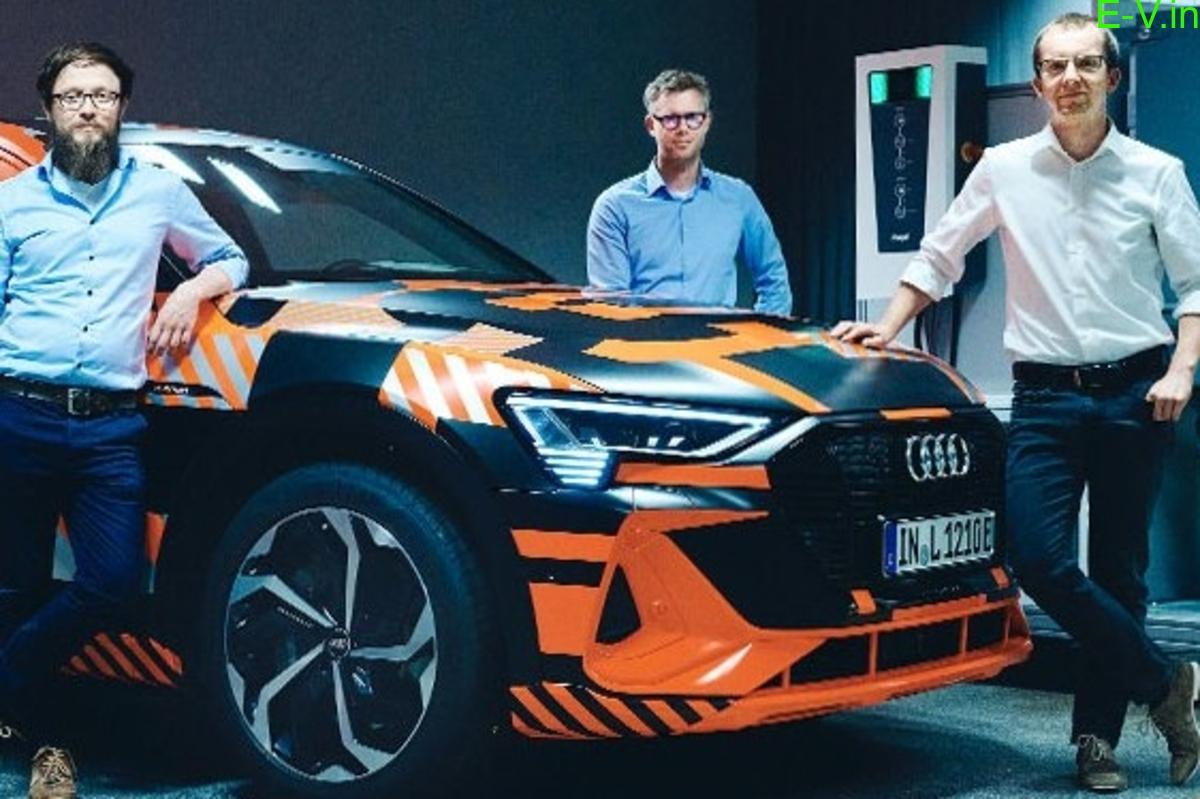 Audi develops bidirectional charging