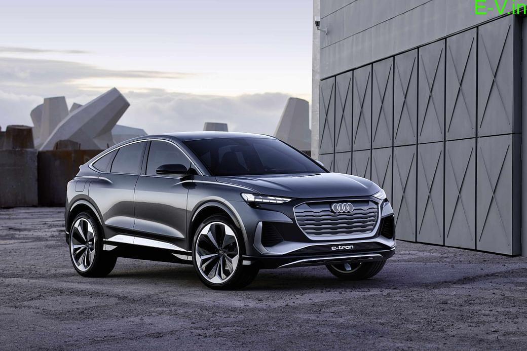 Audi unveils Q4 Sportback e-Tron