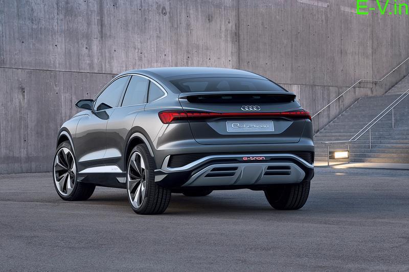 Audi unveils Q4 Sportback e-Tron concept