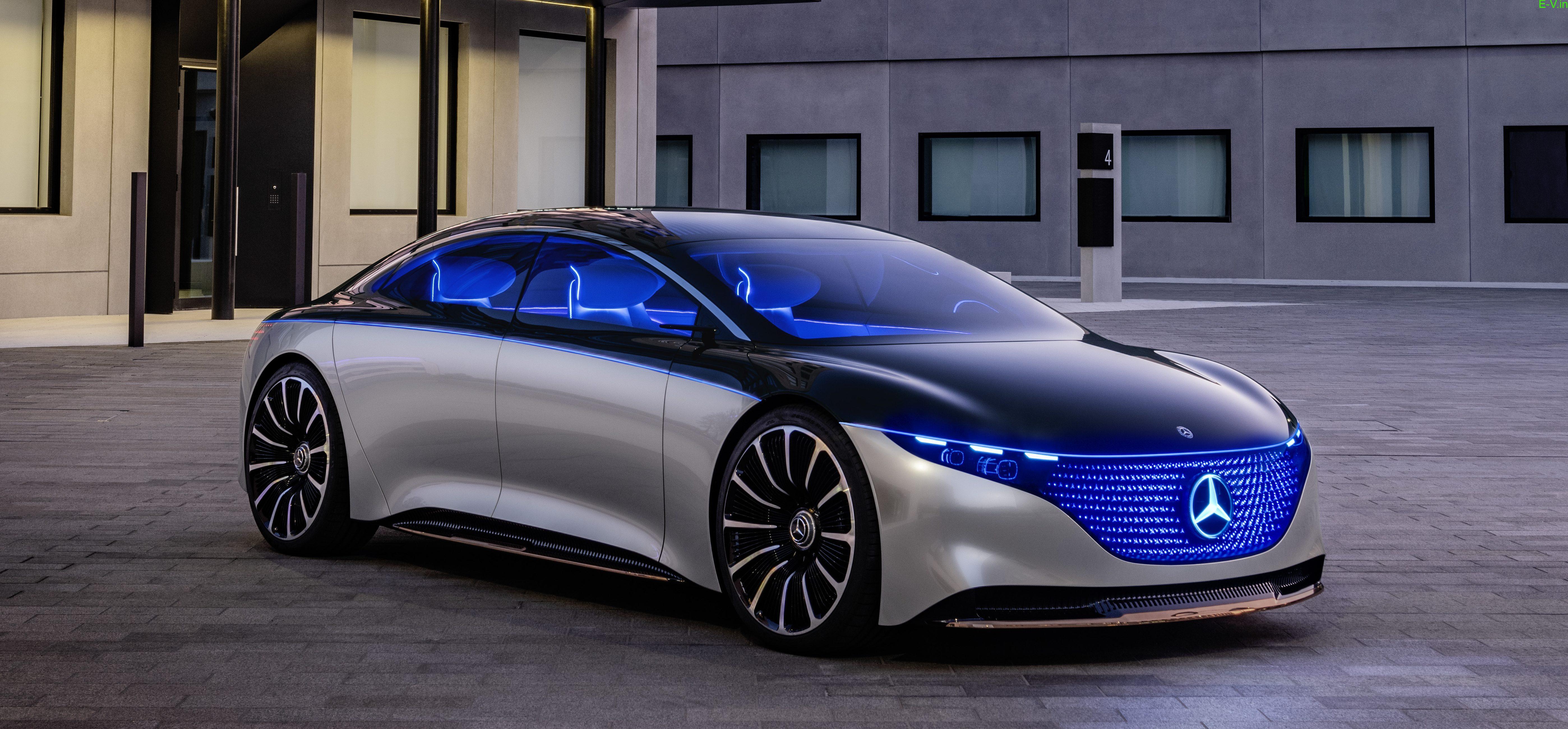 Mercedes Benz EQS Electric