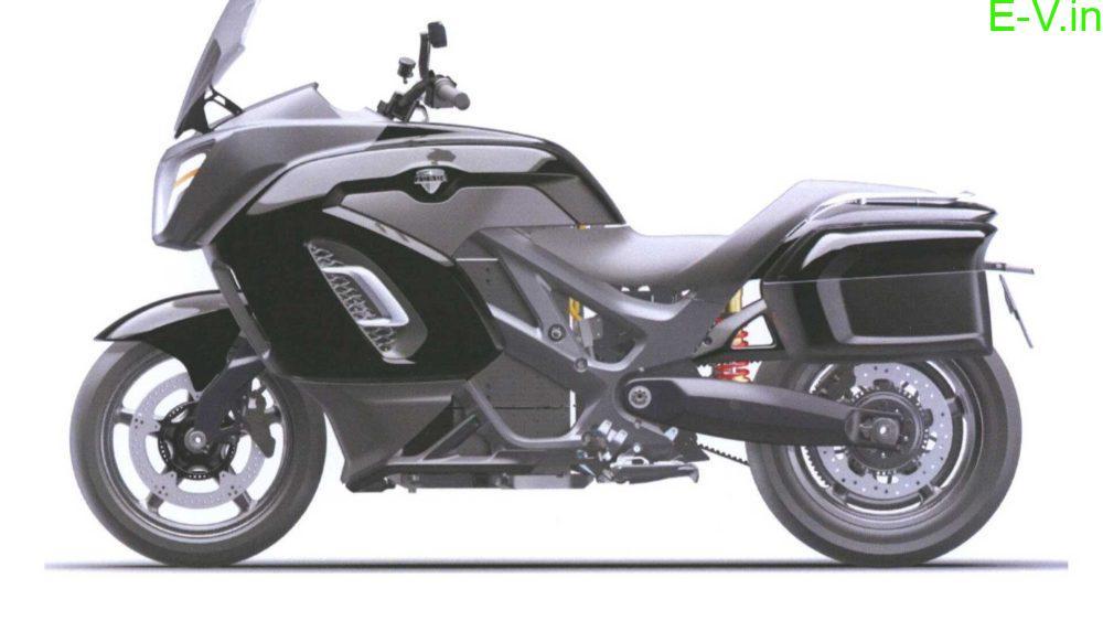 Vladimir Putin's new electric motorcycle 'Aurus'