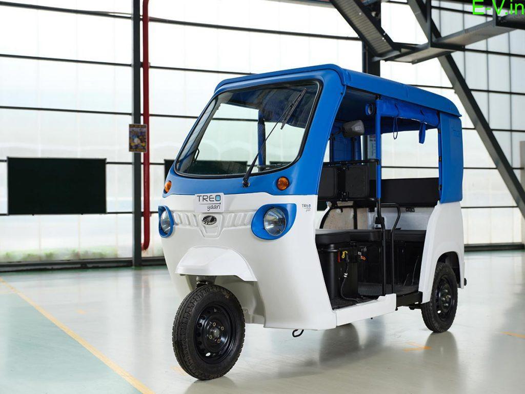 Mahindra electric auto Treo