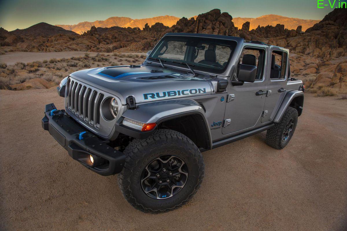 jeep plug-in hybrid Wrangler