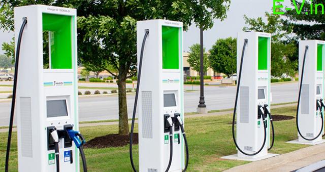 EV charging stations in Kerala