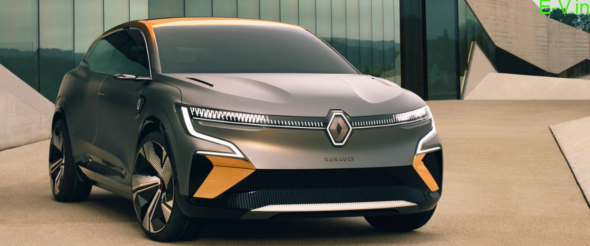 Renault unveiled Megane eVision
