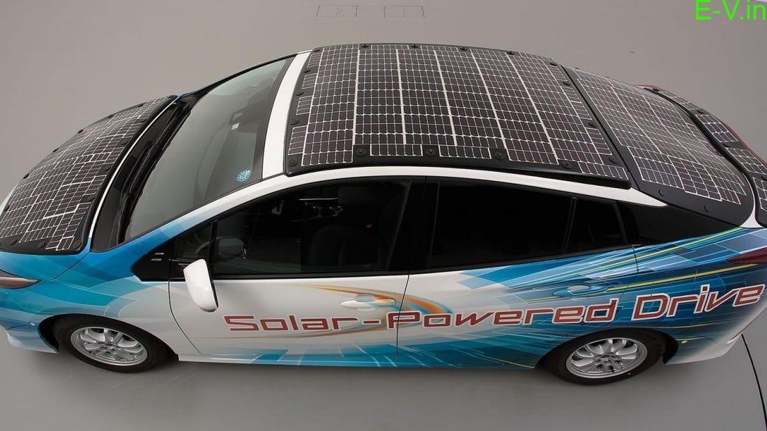 Solar electric vehicles