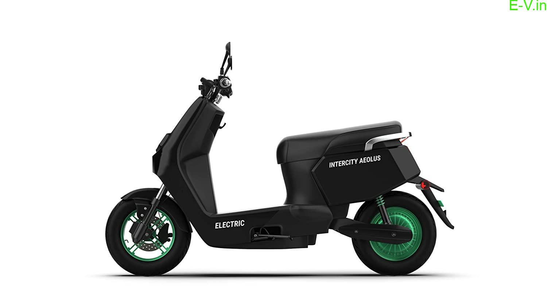 Intercity Aeolus electric scooter
