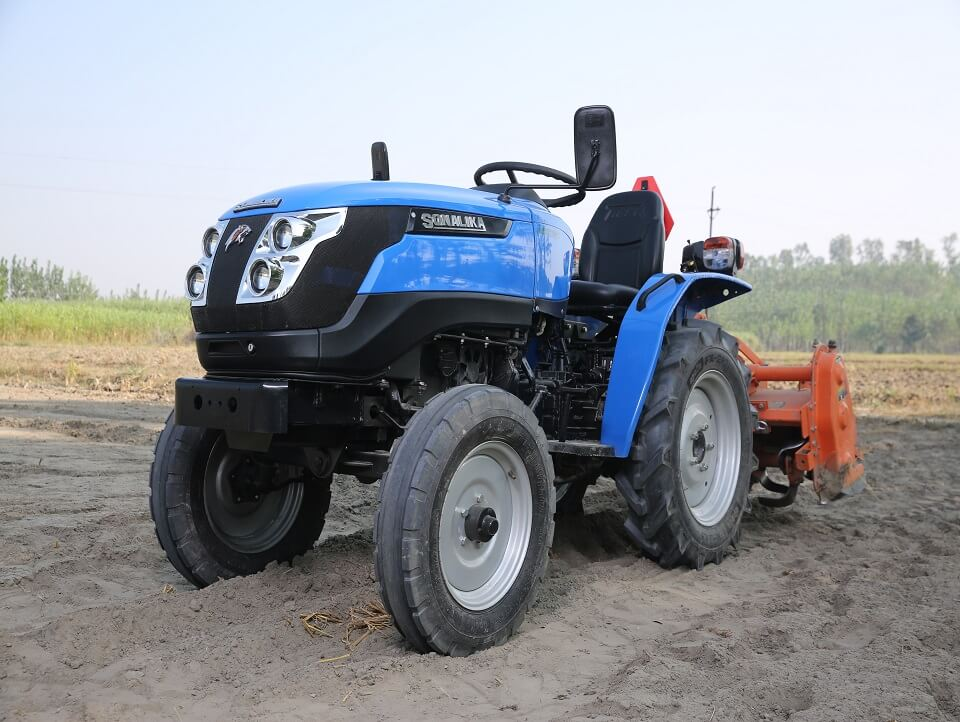 India's first electric tractor