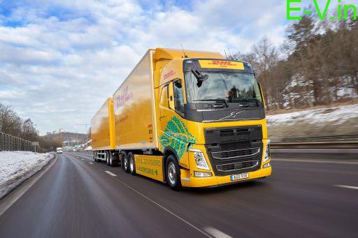 DHL Freight & Volvo Trucks partners