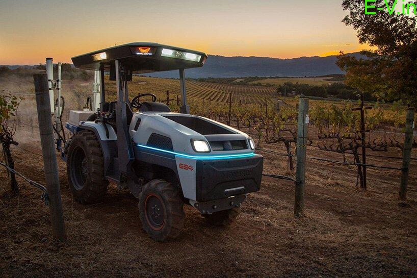 Monarch autonomous electric tractor