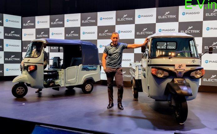 Piaggio entered into electric three-wheeler cargo segment
