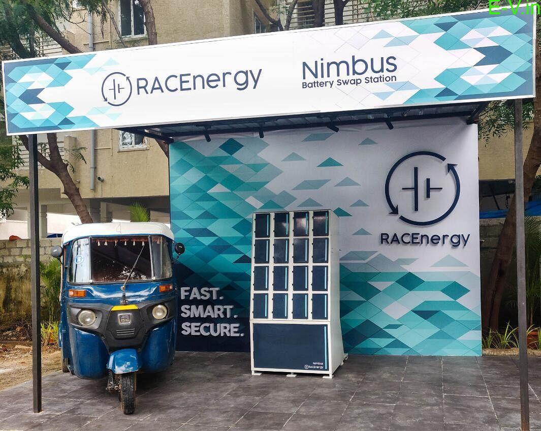 RACenergy's retrofit Auto rickshaw