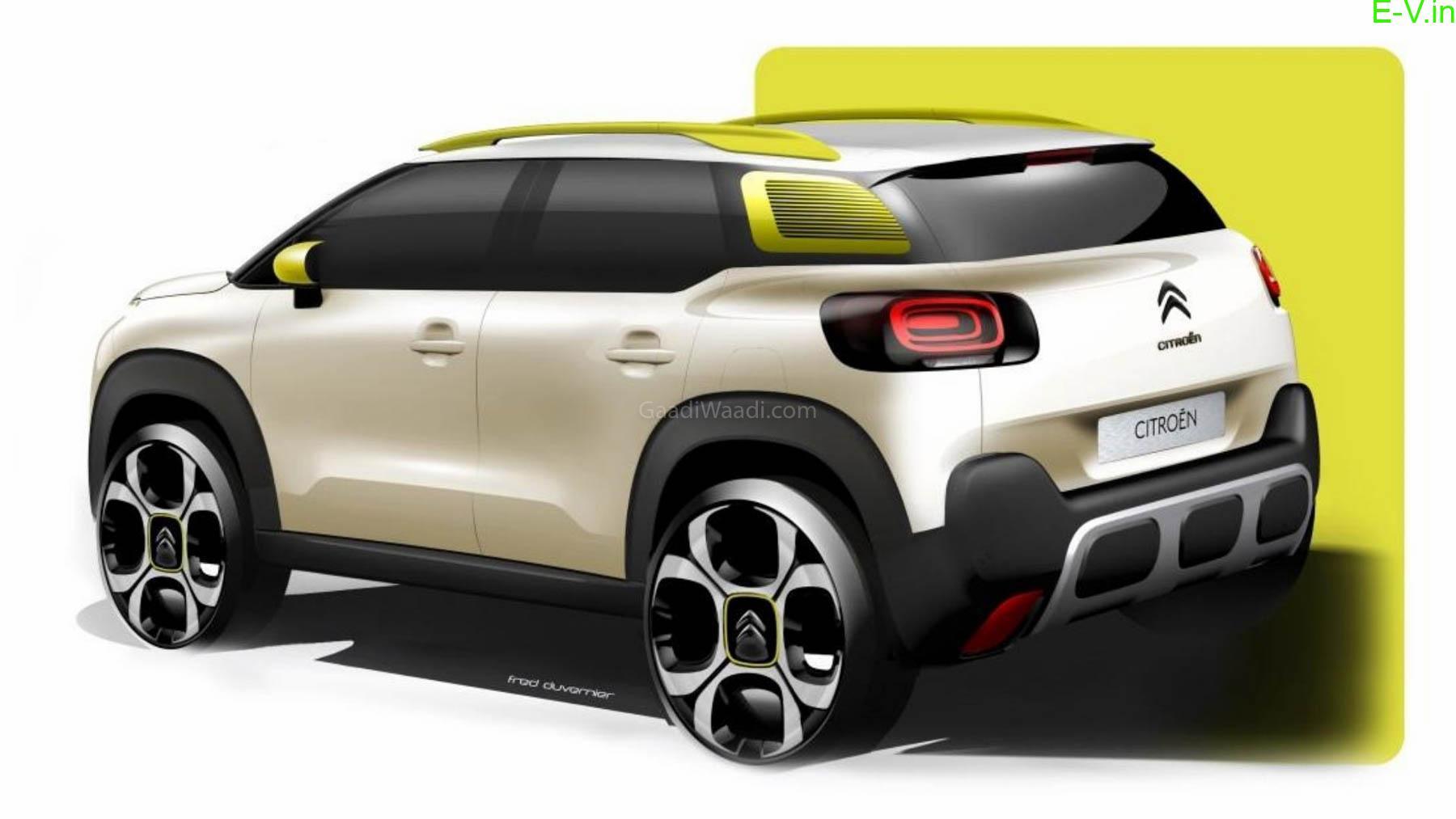 Upcoming electric car