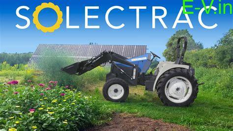 Solectrac electric tractors