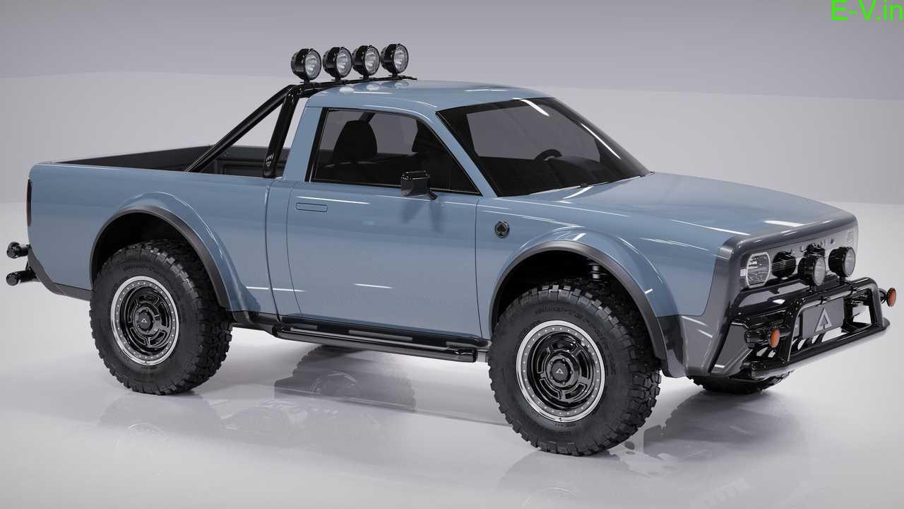 Alpha Wolf EV pickup truck unveiled