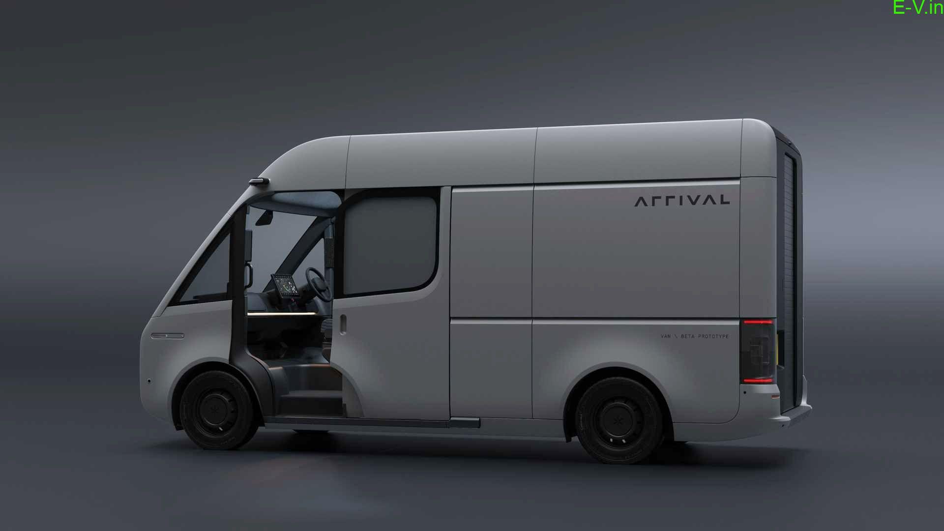 Arrival unveils its electric van