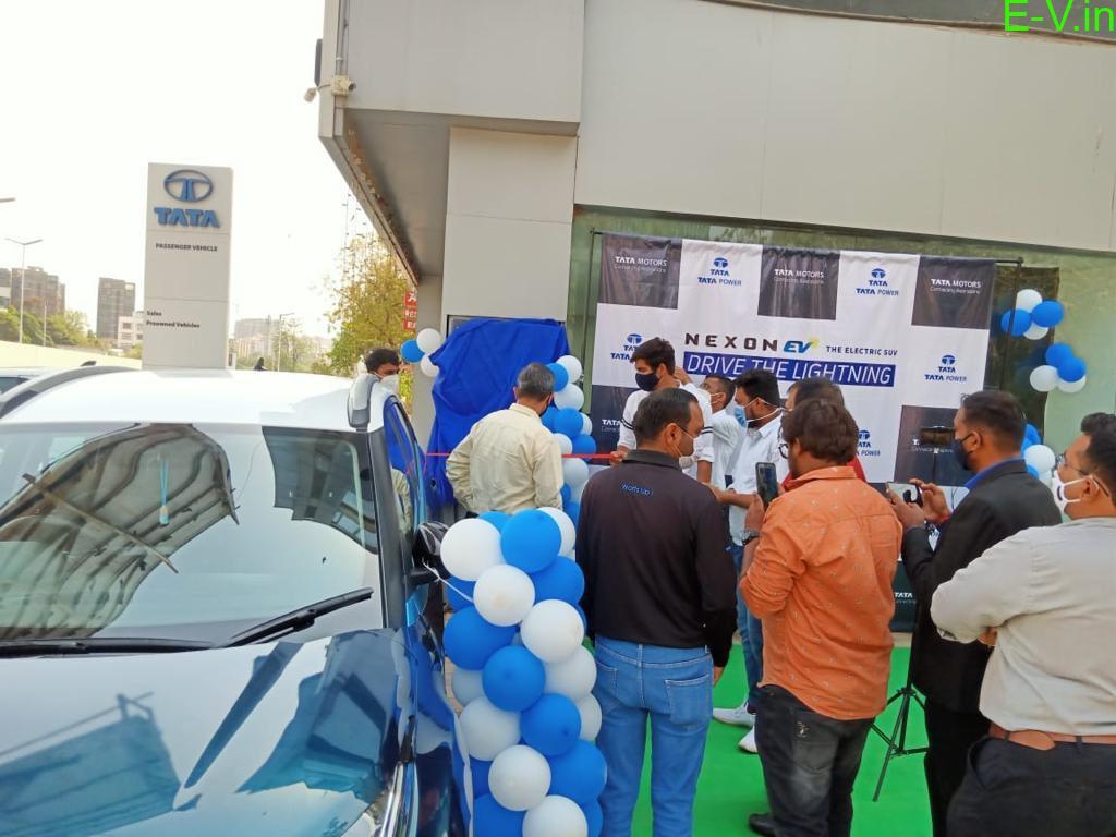 EV charging station installation