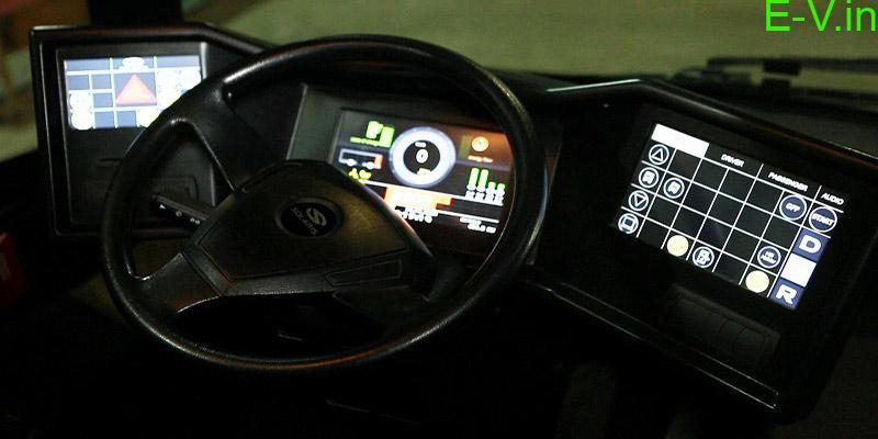 Ecolife 9M driver panel