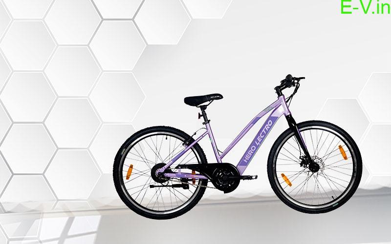 Hero Lectro's Women's E-bicycle.