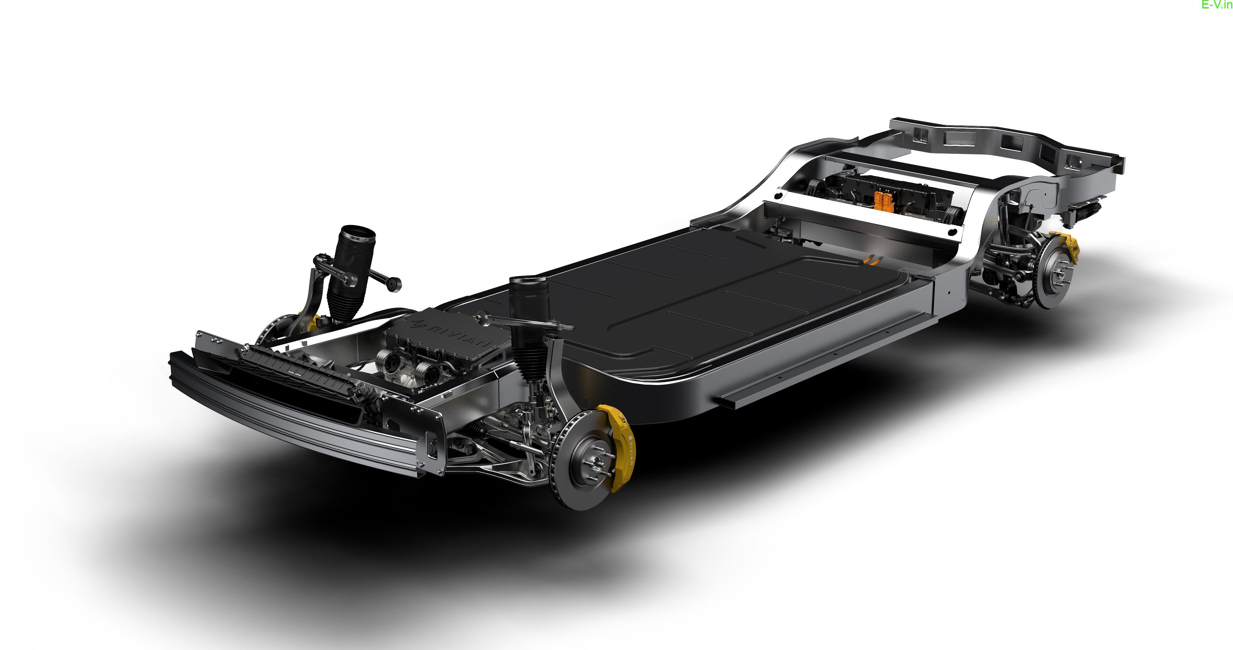 R1S quad-motor skateboard platform