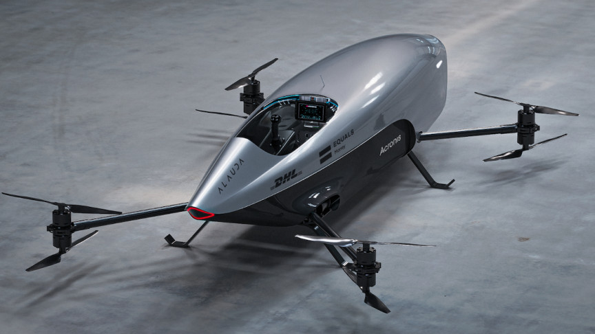 World's first flying electric racecar