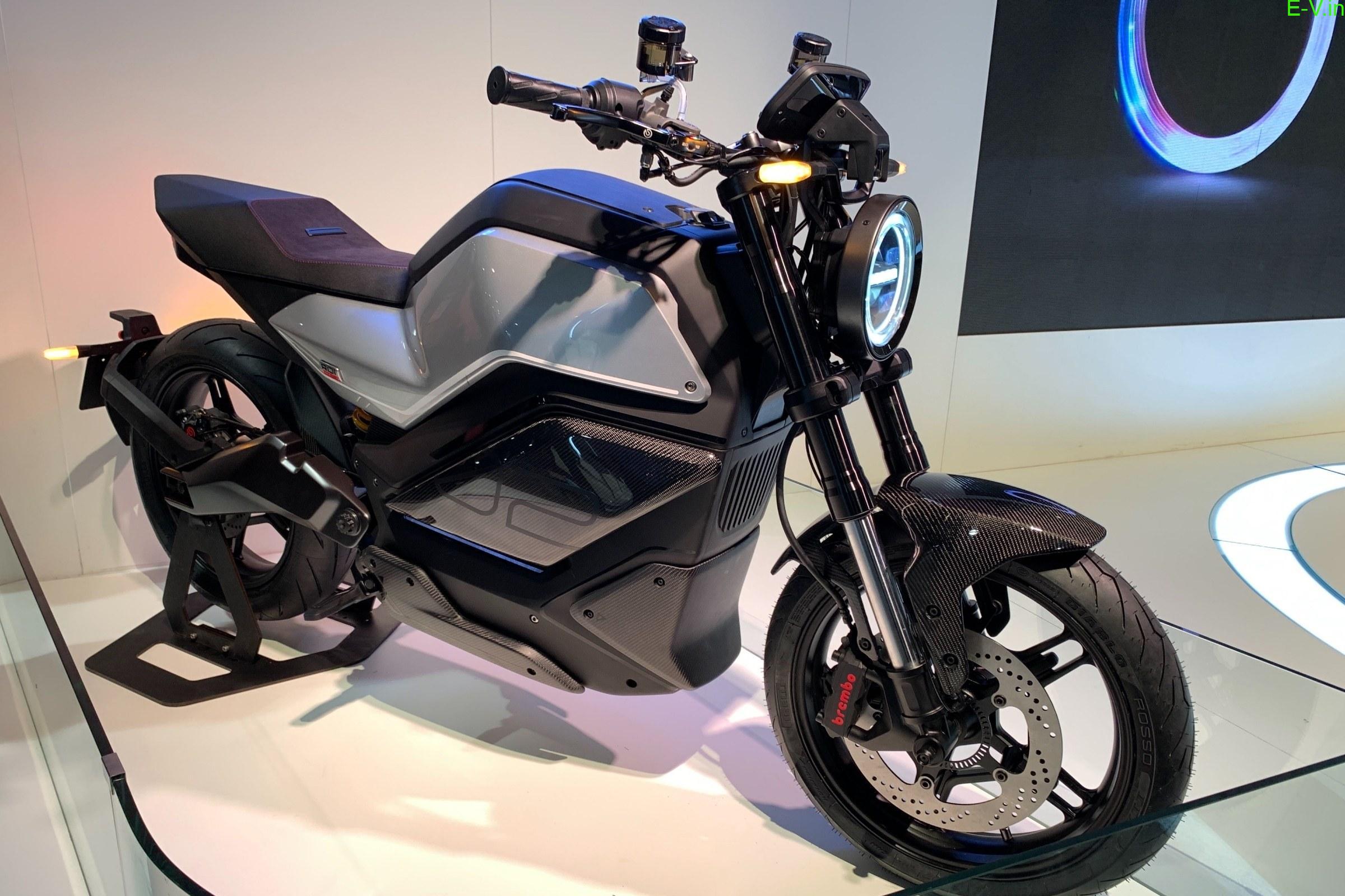 NIU RQi electric motorcycle
