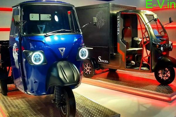 Omega Seiki Electric Vehicles