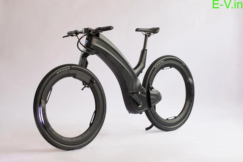 Hub less E-bike