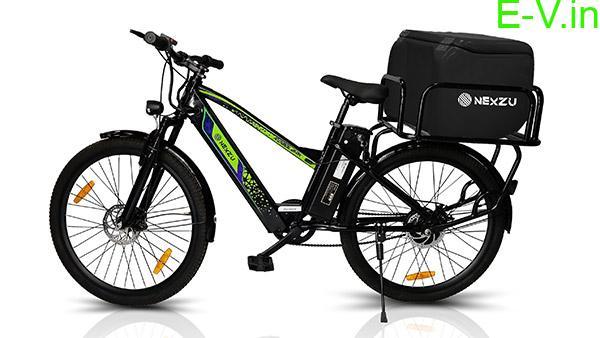 Nexzu Mobility cargo electric bicycle Roadlark