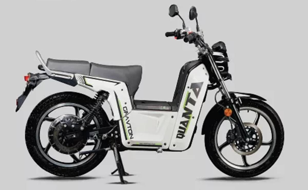 Gravton launched 'Quanta' electric bike at Rs 99,000 in India