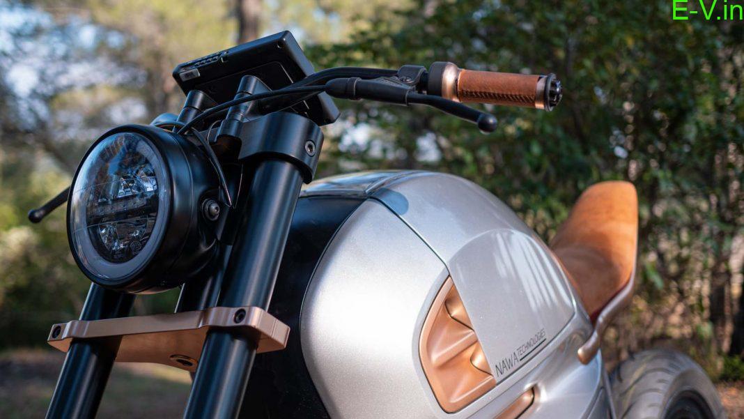 NawaRacer hybrid electric motorcycle