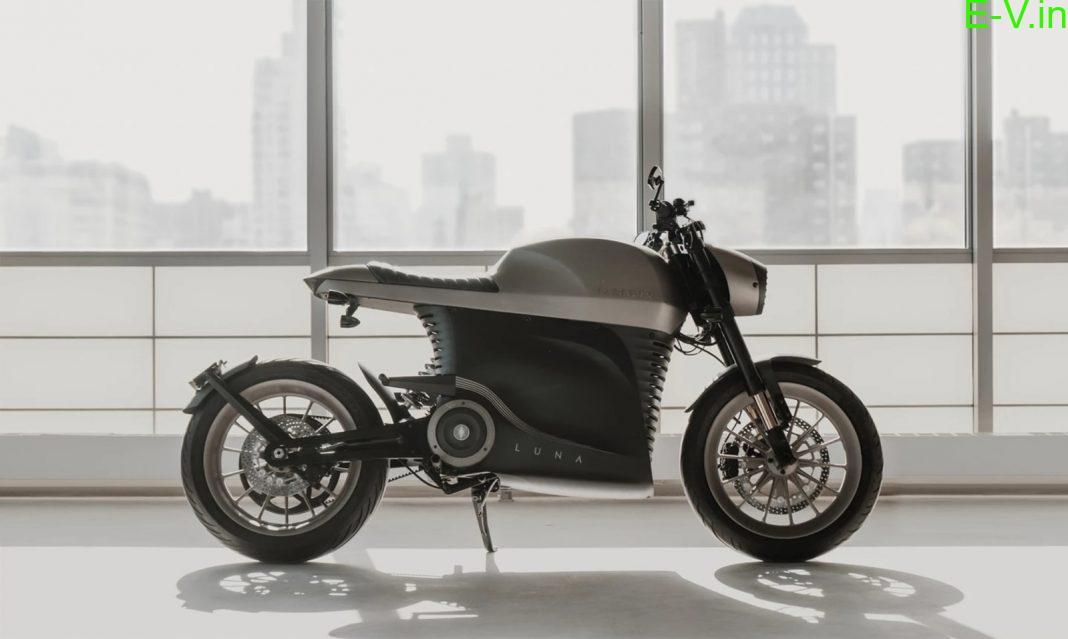 Tarform Luna Cafe Racer electric motorcycle unveiled