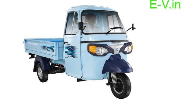 Piaggio Ape electric three-wheeler