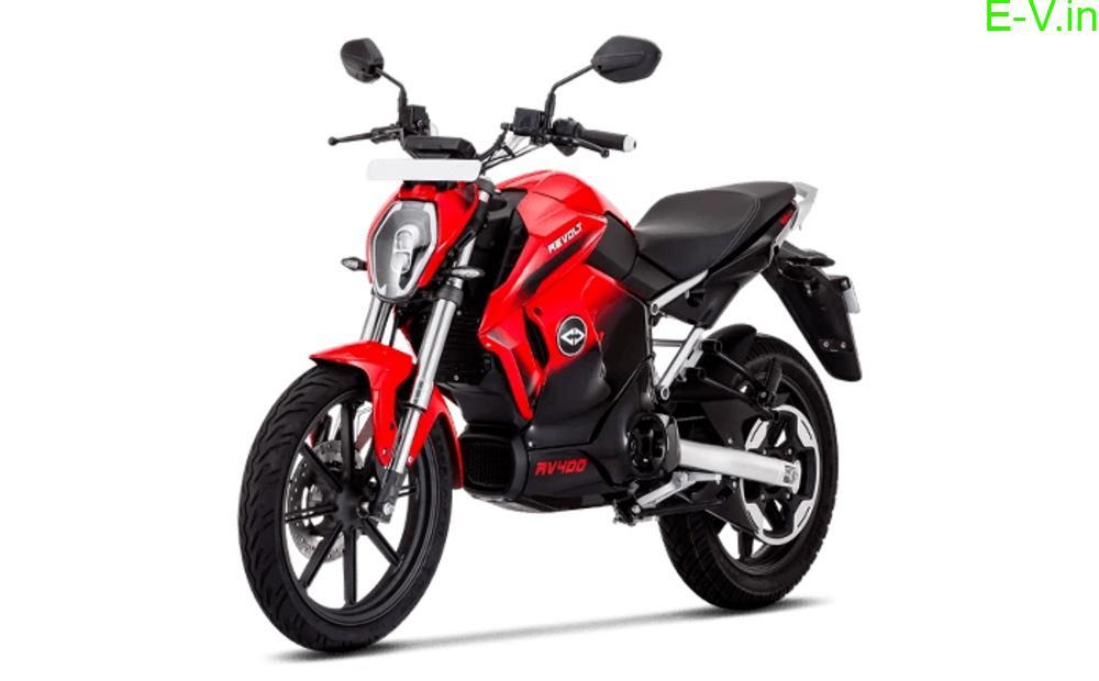 Revolt RV400 electric bike