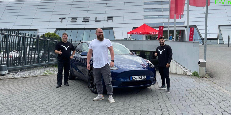 Tesla Model Y sales