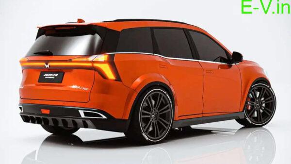 Mahindra XUV700 electric SUV