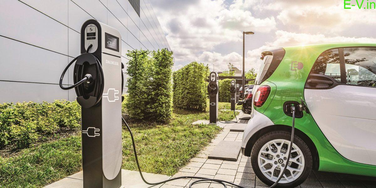 Power Grid EV charging station