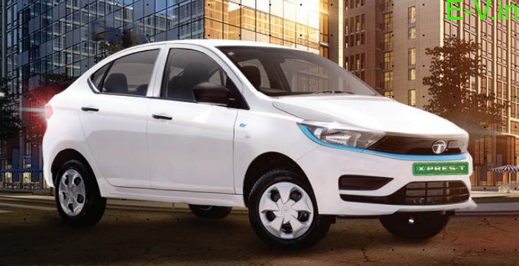 Tata Motors XPRES-T Electric Sedan at Rs 9.54 lakhs
