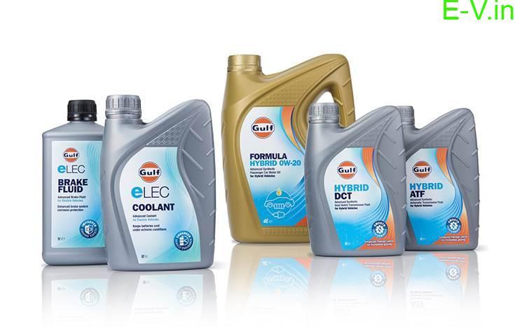 Gulf Oil launches e-fluids