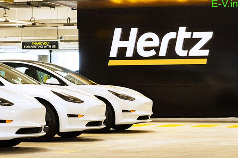 Hertz orders 100,000 Tesla Model 3 cars for its rental fleet