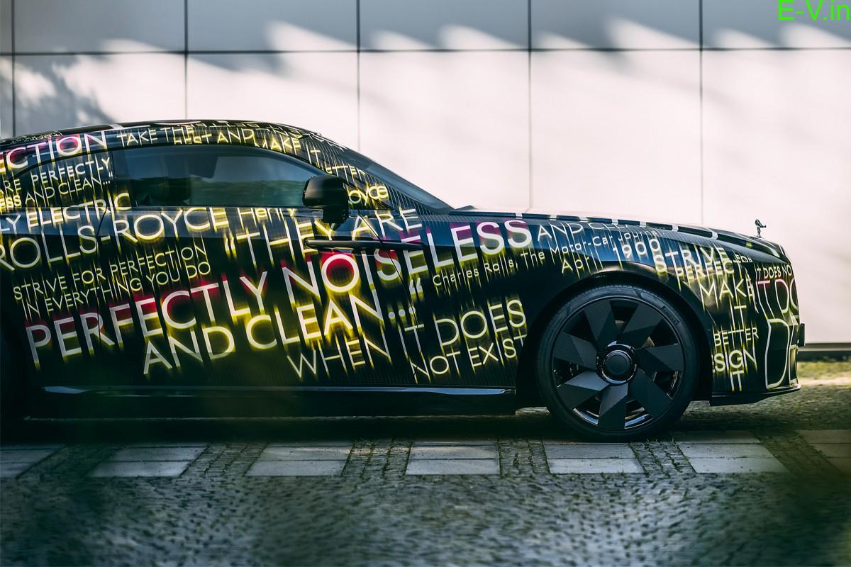 Rolls-Royce unveils its first EV Spectre
