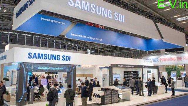 Samsung first EV battery plant